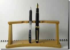 プロフィット21レフティ サイズ 比較 ボールペン 写真