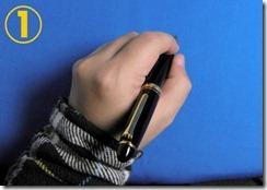 プロフィット21レフティ 左利き 持ち方 普通 写真