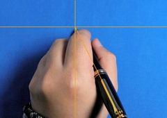 万年筆 左利き 持ち方 書きやすい 写真