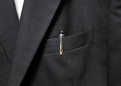 M205 ブルーデモンストレーター ポケット スーツ 写真