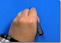 プレラ 左利き 持ち方 書きやすい 写真