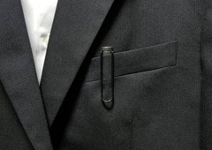 ラミー サファリ スーツ 胸ポケット 写真